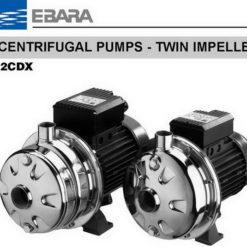 ปั๊มน้ำเอบาร่า EBARA รุ่น 2CDXM 120_20 2CDX 120_20