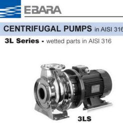 ปั๊มน้ำเอบาร่า EBARA รุ่น 65-125_5.5