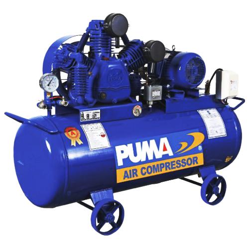 ปั๊มลมพูม่า ระบบติดเครื่องยนต์  PUMAแบบ Two stage รุ่น TPP-300 (30 HP )